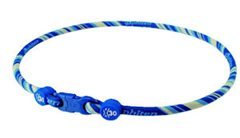 Rakuwa X30 Aqua Titan Necklace in Blue/Yellow