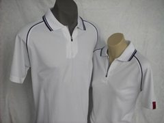 X-30 Polo Shirt Unisex in White