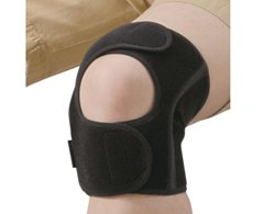 Phiten Supporter Knee Middle Type - Firm EasyFit