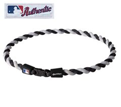 Tornado Necklace MLB Authentic Collection in Black/White