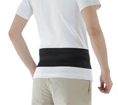 Phiten Supporter Waist Belt Soft Type Single
